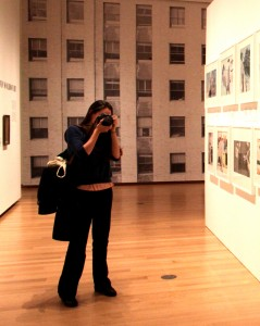 Amy at the Museum of the City of New York