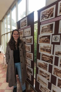 Amy with MH images at Clunes 2016 (Aldona Kmiec, low res)