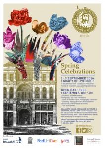 BMI Spring Celebrations poster